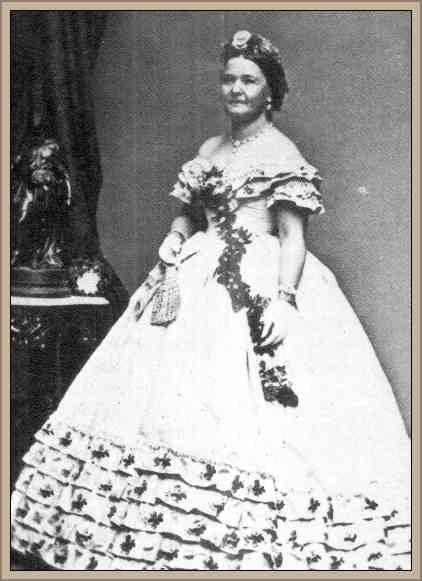 mujer de abraham lincoln