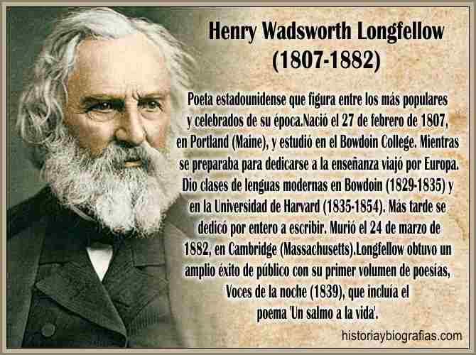 Biografia de Longfellow Henry