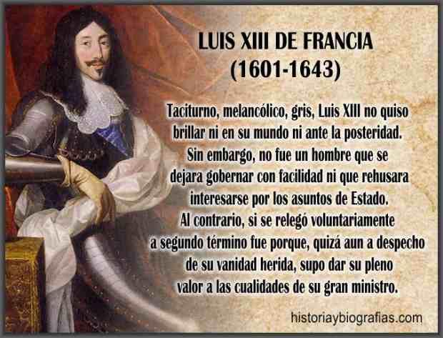 biografia de rey luis xiii de francia caracteristicas de su reinado