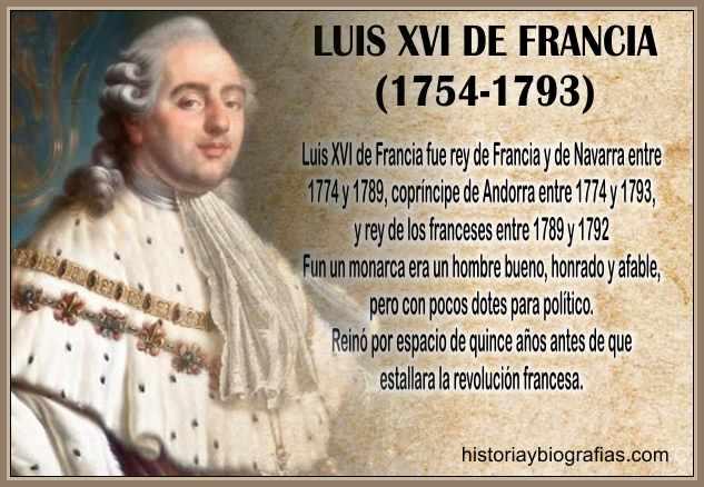 biografia de luis xvi de francia