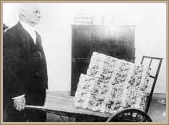 inflacion en alemania siglo xx post guerra mundial