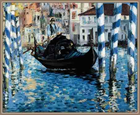 Obra de Manet Impresionista