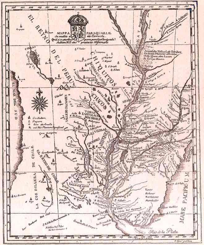 primeros mapas de argentina