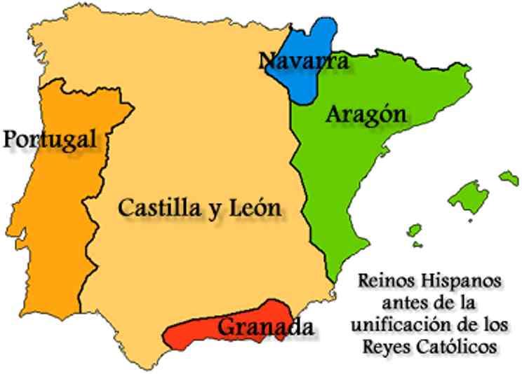mapa de españa antigua