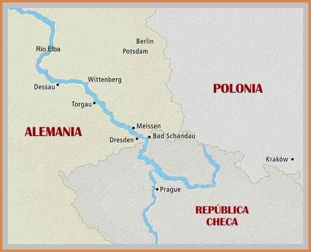 mapa rio elba y los rusos