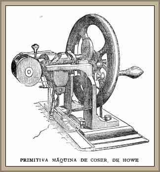 maquina de coser de Howe