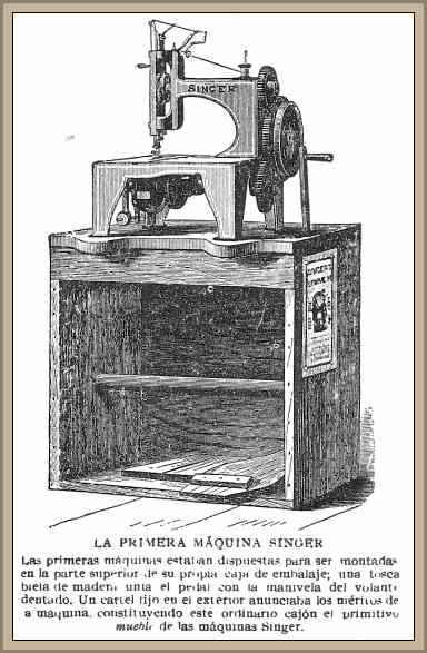primera maquina de coser singer