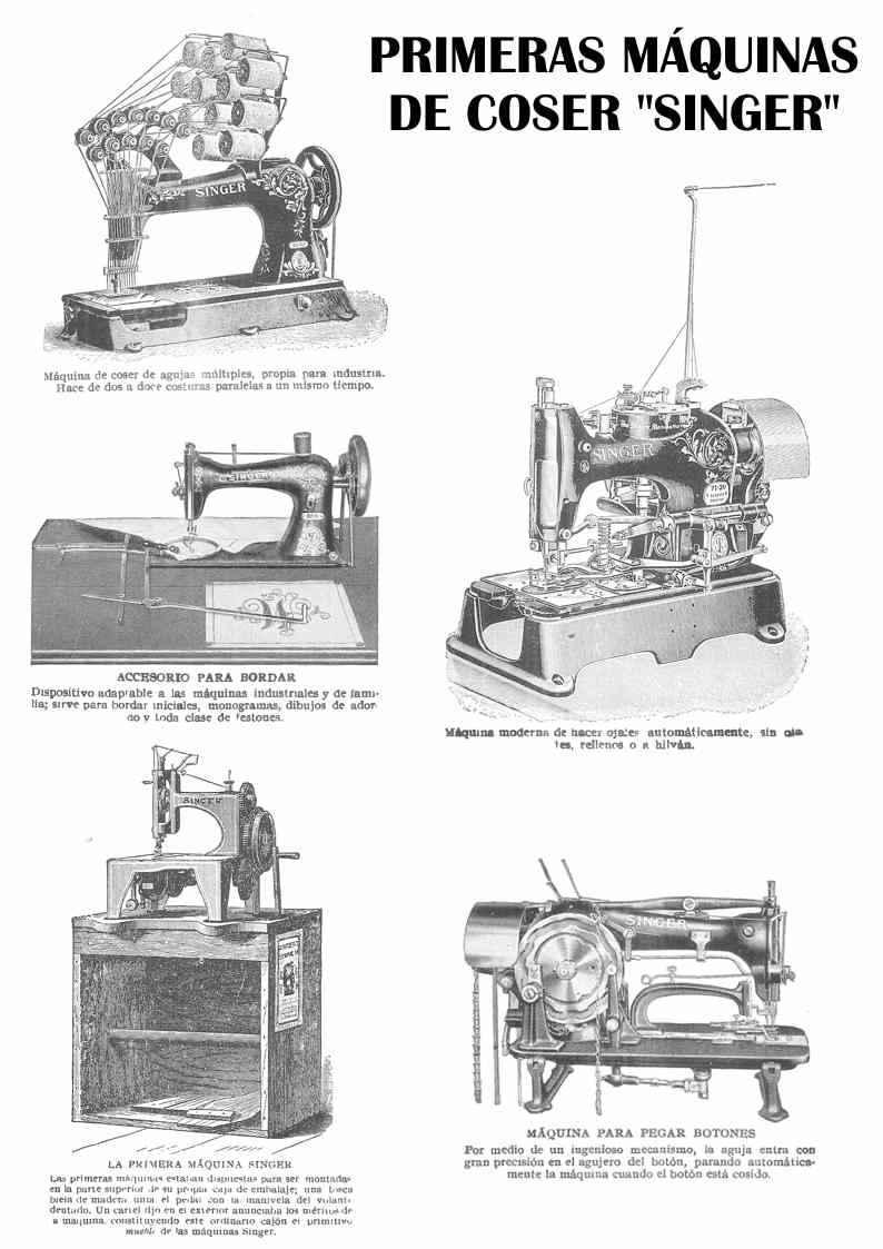 Historia de la Máquina de Coser Inventores y Evolución Tecnológica