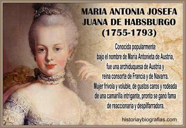 Biografia de Maria Antonieta Reina de Francia Juicio y Ejecucion