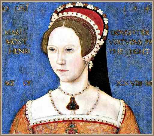 Maria Tudor Reina