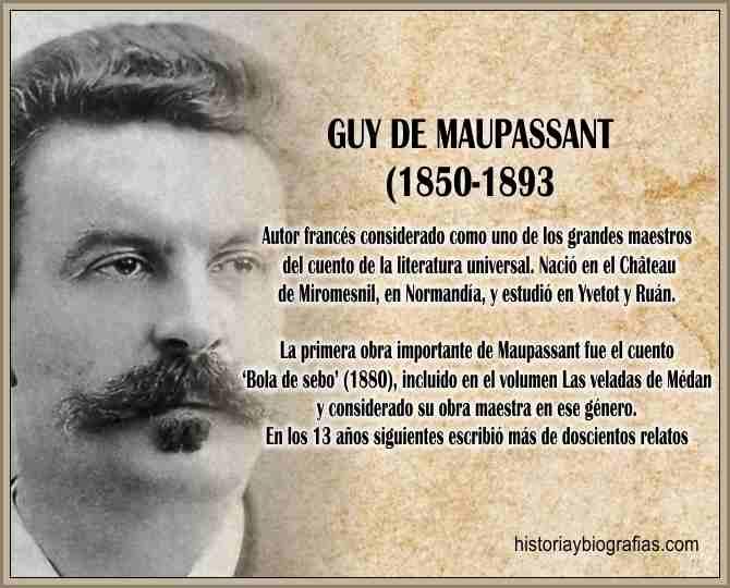 Biografia de Guy de Maupassant