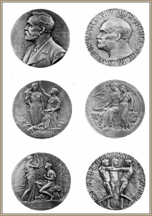 imagen de las medallas premio nobel
