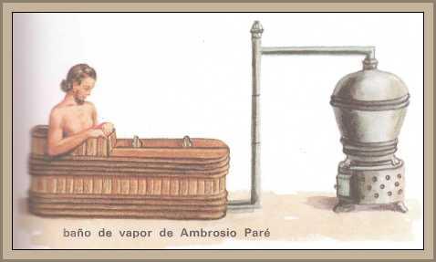 medicina Paré baño vapor