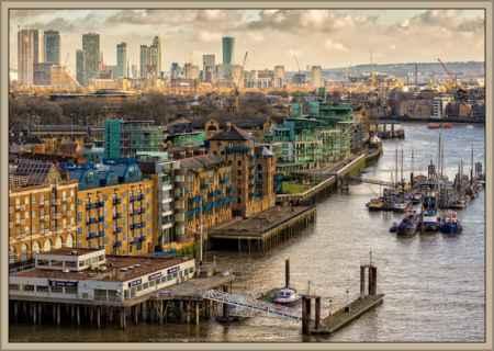 ciudad de londres muelles y barcos
