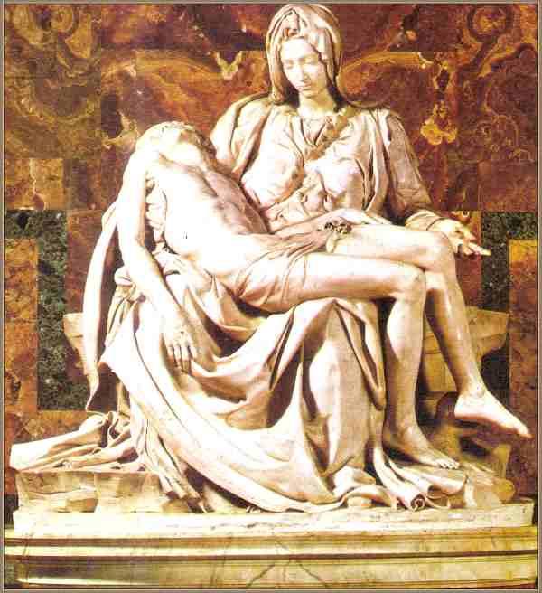 La piedad de  Miguel Angel Buonarroti Cronologia-Obra Artistica ...