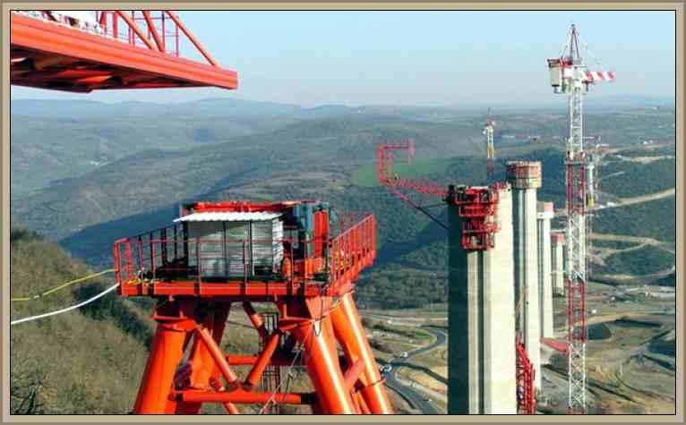 Construccion del Viaducto Millau