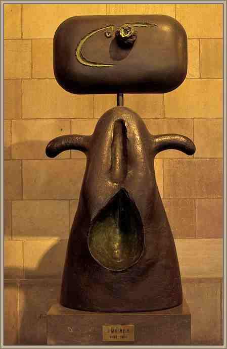 obra de arte de joan miro Femme (1981)