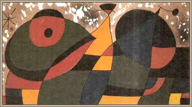 maqueta tapiz de miro joan