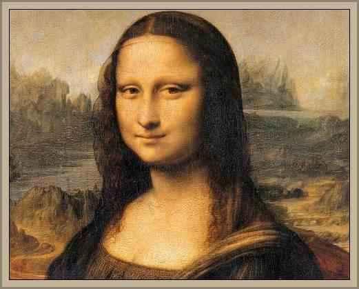 Obra La Mona Lisa de Da Vinci