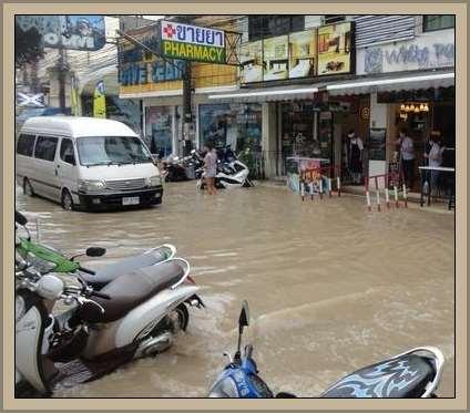 Viento monzon en Tailandia