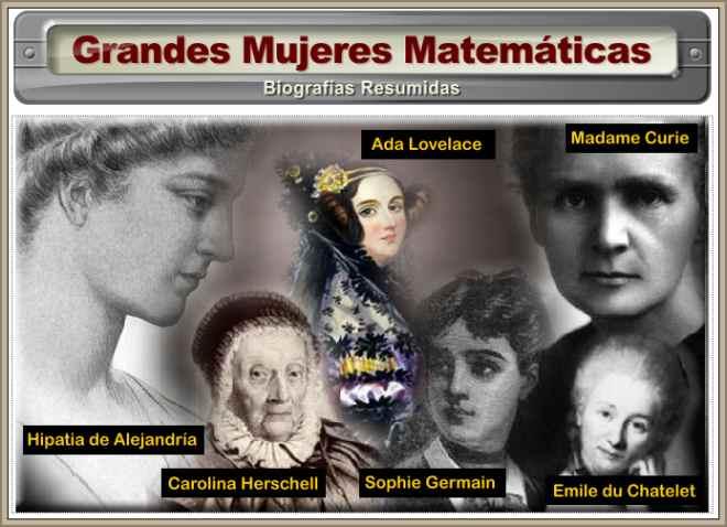 grandes mujeres matematicas