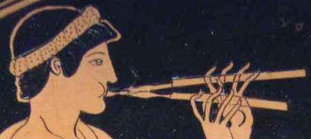 musica griega-flauta