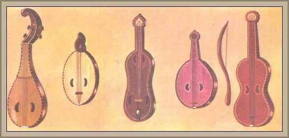 historia de los instrumentos musicales