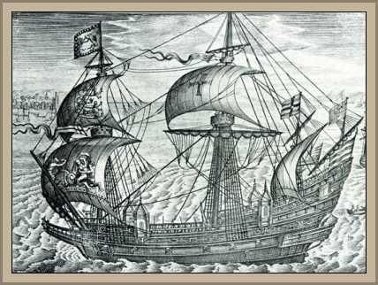 Barco ingles siglo xix