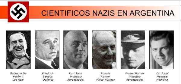 cientificos nazi en argentina
