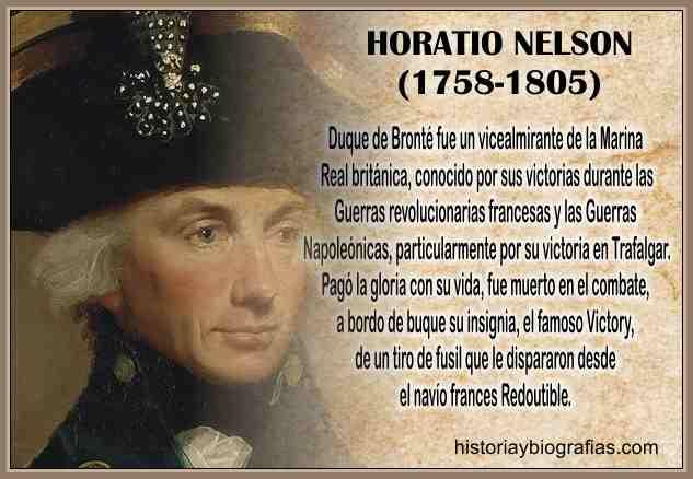 Biografia de Horatio Nelson