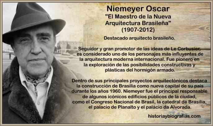 Biografia de niemeyer oscar arquitecto de brasilia - Arquitecto de brasilia ...
