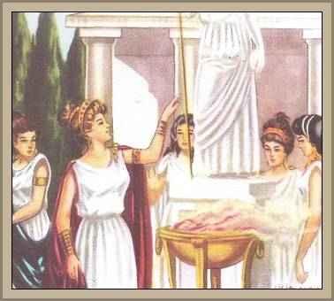 La Leyenda de Niobe Castigada por Arrogante Literatura Griega