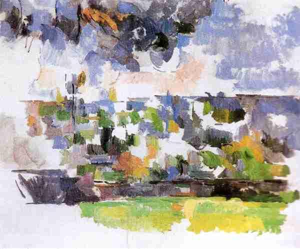 El Jardin de Less Lauve: Obra de Cezanne Paul