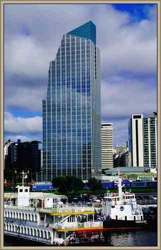 obra de cesar pelli torre banco boston