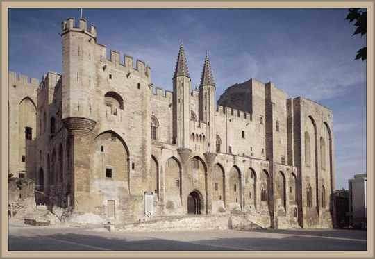 Palacio de los Papas en Avigñon