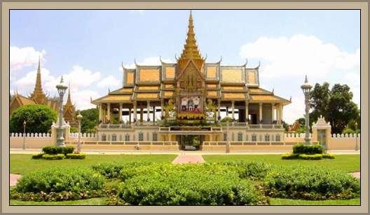 palacio real en camboya
