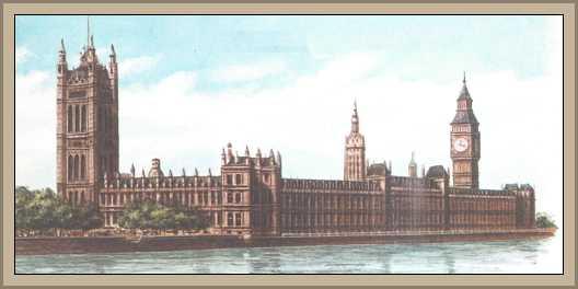 Origen  del Parlamento Inglés Cámara de Lores y Comunes
