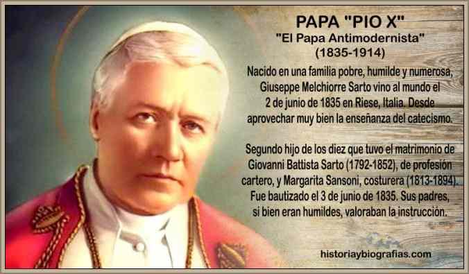 Papa Pio X Biografia