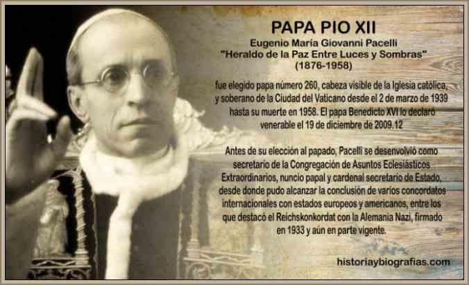 papa pio xii biografia