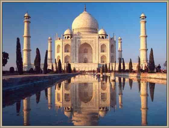 patrimonio de la india palacio taj mahal india