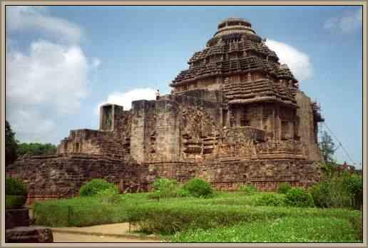patrimonio de la india pagoda negra