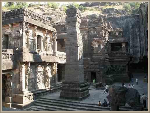 patrimonio de la india gruta de ellora