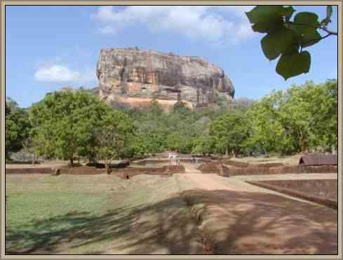 ciudad de sigiriya patrimonio de la india