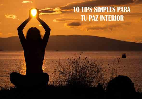 paz interior o espiritual