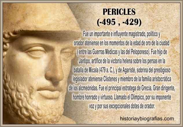 siglo de pericles y biografia
