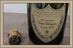 botella champage perignon