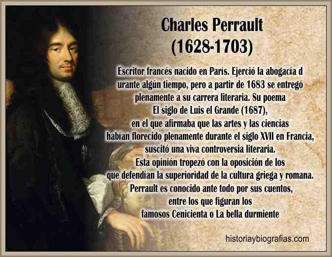 Biografia de Perrault Charles