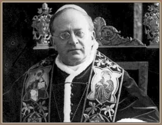 Biografia del Papa Pio XI Obra de su Pontificado | BIOGRAFÍAS e ...