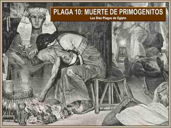 muerte de primogenitos