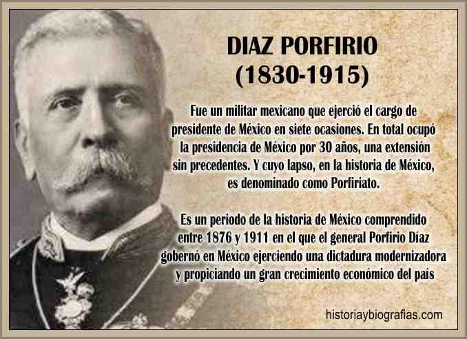 La Revolución Mexicana Antecedentes y Causas Porfirio Diaz